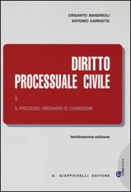 Diritto Processuale Civile (Volume II). Il processo ordinario di cognizione