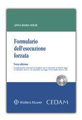Formulario dell'esecuzione forzata. Con CD-ROM con formule
