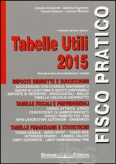 Tabelle Utili 2015