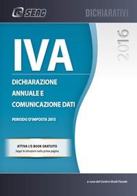 Iva- Dichiarazione annuale e comunicazione dati