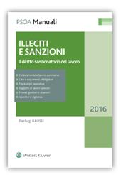 Illeciti e sanzioni 2016- Il diritto sanzionatorio del lavoro
