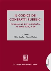 Il codice dei contratti pubblici