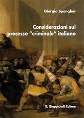 considerazioni processo criminale