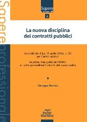 nuova disciplina contratti pubblici