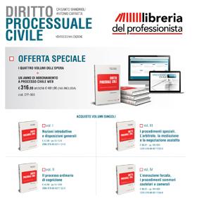 Offerta Speciale Diritto Processuale Civile
