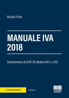 Manuale Iva 2018