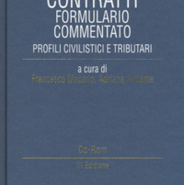 Contratti – Formulario commentato