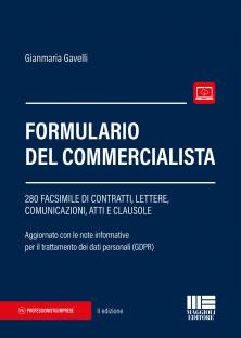 Formulario del commercialista. 280 facsimile di lettere, comunicazioni, atti e clausole