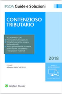 Contenzioso tributario 2018