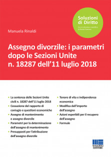 Assegno divorzile: i parametri dopo le Sezioni Unite n. 18287 dell'11 luglio 2018