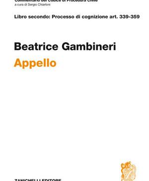 Appello. Art. 339-359