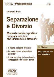 Separazione e divorzio L40