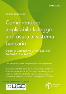 Come rendere applicabile la legge anti usura al sistema bancario