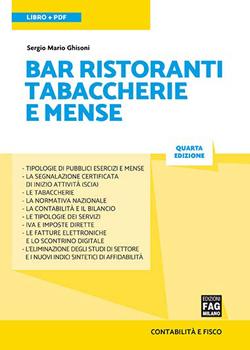 Bar, ristoranti, tabaccherie e mense