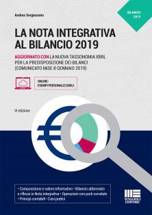 La nota integrativa al bilancio 2019