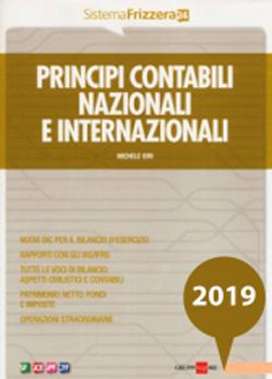 Principi contabili Nazionali e Internazionali 2019