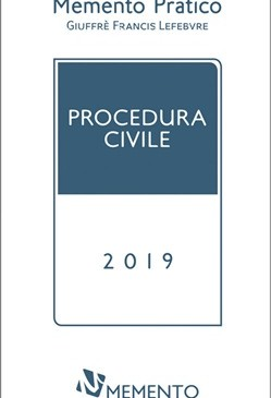 Memento Procedura civile 2019