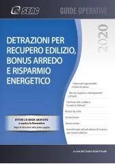 Detrazioni Per Recupero Edilizio, Bonus Arredo e Risparmio Energetico 2020