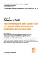 Regolamentazione delle unioni civili tra persone dello stesso sesso e disciplina delle convivenze