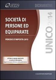 UNICO 2014 – Societa di Persone ed Equiparate