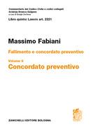 Fallimento e concordato preventivo Art. 2221, vol. II