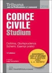 Codice civile . Studium 2015