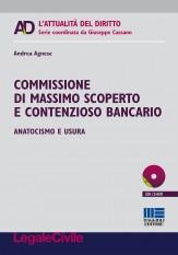 Commissione di massimo scoperto e contenzioso bancario