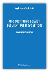 Atto costitutivo e statuti degli enti del terzo settore