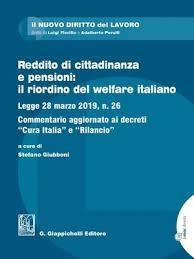 Reddito di cittadinanza e pensioni: il riordino del welfare italiano