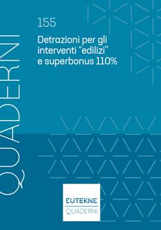 """Detrazioni per gli interventi """"edilizi"""" e superbonus 110%"""