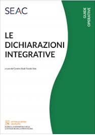 Le dichiarazioni integrative