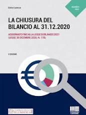 La chiusura del bilancio al 31.12.2020