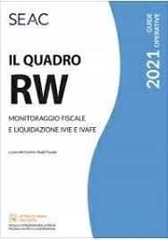 Il quadro RW 2021